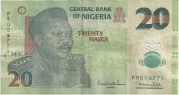 Nigeria, A.D. 2010, 20 Naira (SN 009771) - Nigeria