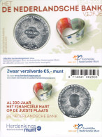 NEDERLAND - COINCARD 5 € 2014 UNC - 200 JAAR DE NEDERLANDSCHE BANK - Pays-Bas