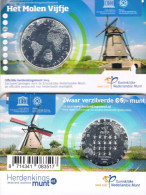 NEDERLAND - COINCARD 5 € 2014 UNC - HET MOLEN VIJFJE - Pays-Bas