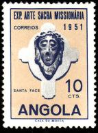 ANGOLA   1952  - YT  355  -  Sainte Face  -  Oblitéré - Angola