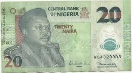 Nigeria, A.D. 2011, 20 Naira (SN 4329903) - Nigeria