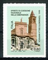 ITALIA / ITALY 2015** - Terremoto Della Marsica - 1 Val. Autoadesivo Come Da Scansione - 6. 1946-.. Repubblica