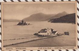 L17 GRECE CORFOU PONTICONISSI L'ILE D'ULYSSE - Grèce