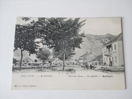 AK Montenegro Njegusi / Niegus. Le Marche / Marktplatz. No 3. Seltene Ansichtskarte. Ungebraucht!! - Montenegro