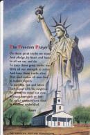 Statue Of Liberty , Freedom Prayer 60-70s - Freiheitsstatue