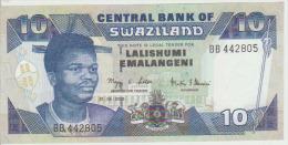 Swaziland 10 Emalangeni 2006 Pick 29 UNC - Swaziland