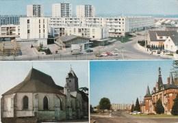 MAINVILLIERS  (28)  PANORAMA - L'EGLISE - L'HOTEL DE VILLE - Unclassified