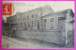 Cpa Haraucourt Les Ecoles Carte Postale 54 Lorraine Proche Lunéville Edition Xenard - Autres Communes