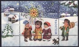 Moldavie Moldova 2008 Yvertn° Bloc 46 *** MNH Cote 9,50 Euro Noel Kerstmis - Moldavie
