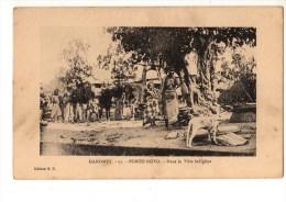 C P A--AFRIQUE  DAHOMEY--PORTO-NOVO--dans La Ville Indigène--voir 2 Scans - Dahomey