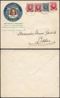 Lettre de Baesrode � Lobbes en-t�te imprimerie