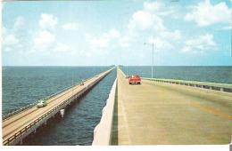 The Gandy Double-Span Bridges between Tampa and St. Petersburg, Florida
