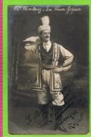 E Martiny Baryton Opéra Comique, In 'La Veuve Joyeuse' Théatre Royal D'Anvers 1912-1913  Autographe - Autographes