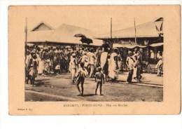 C P A--AFRIQUE  DAHOMEY--PORTO-NOVO--fête Aux Marchés--voir 2 Scans - Dahomey