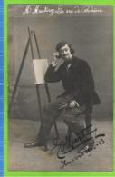 E Martiny Baryton Op�ra Comique, in �La vie de Boh�me� Th�atre Royal d�Anvers 1912-1913  Autographe