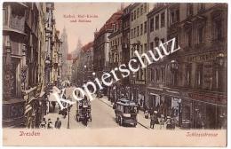 Dresden  Schlossstrasse, Cafe Central Walter Kuchenbuch   (z2022) - Dresden