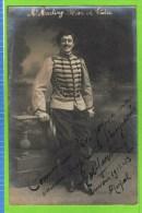 E Martiny Baryton Op�ra Comique, in �R�ve de Valse� Th�atre Royal d�Anvers 1912-1913  Autographe