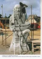 SAINT-POL-de-LEON, Patrice LE GUEN De SANTEC, Réalise Pour La Vallée Des Saints, Son Saint Malo, En Public - CMTB 351 - France