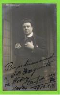 Trosselli Maurice Th�atre Royal d�Anvers  autographe � M lle Marquerite De Wever, 1913-1914