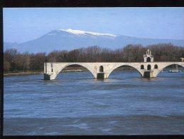 CPM Neuve 84 AVIGNON Le Pont Saint Benezet Et Le Mont Ventoux - Avignon (Palais & Pont)