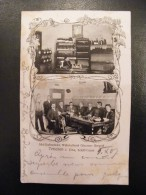 Allemagne Tetschen Am Elbe Sud Italienische Weinkellerei Giacomo Gregori  Schiff Gasse 1907 - Boehmen Und Maehren