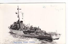 Batiment Militaire Marine Colombie Fregaye  Capitan Tono Ex Us Navy PF 46 Bisbee Tampon Coll Melin  1943 - Boats