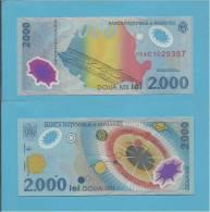 ROMANIA - 2000 LEI - 11.08.1999 - P 111 - UNC. - TOTAL SOLAR ECLIPSE - POLYMER PLASTIC - ROMÉNIA ROMANIEI - Rumania