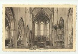 Snellegem   *  Kerkbinnenzicht - Intérieur De L'église - Jabbeke