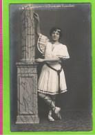 Th�r�se Janssens, 1 iere danseuse travesti, Th�atre Royal d�Anvers, autographe op rug, 1907-1909