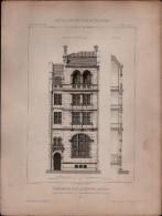 PLAN - HABITATION Rue LEGENDRE à PARIS , XIXe Siècle - Lot 4 Plans - Architecture