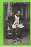 Leon Dubressy second T�nor  1911 Th�atre Royal Anvers � fille Tambour Major�