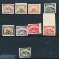 BELGIUM 1928 ISSUE COB 267/268 PROOFS OF COLOUR
