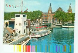 VEDETTES BERGMANN / AMSTERDAM CENTRAL STATION / GARE - Bateaux