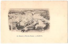 Dépt 56 - LE PALAIS - Le Bassin à Flot-de-Palais (Belle-Île-en-Mer) - F A & Cie. - Palais