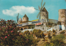 España--Mallorca--1977--Molinos Del Jonquet--Fechador---Palma -a, Verona, Italia - Molinos De Viento