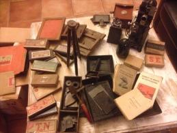 Ancien appareils argentique + mat�riel et cam�ra 1889-1900