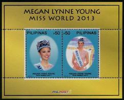 Philippines - Pilipinas (2014) - Block -  /  Megan Lynne Young - Miss World - Culturen