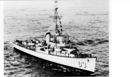 Batiment Militaire Marine Perou Destroyer Teniente Rodriguez Coque D 3 - Boats