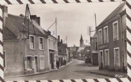 L71 28 AUTHON DU PERCHE RUE DU MANS BOUCHER DEVANT LA BOUCHERIE - France