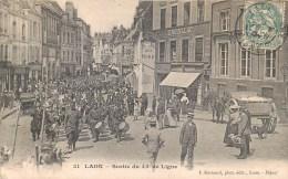 LAON SORTIE DU 45eme DE LIGNE MILITARIA FANFARE GUERRE 02 AISNE - Laon