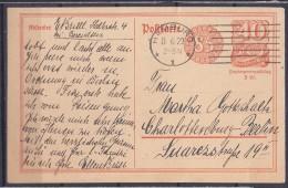 Germany1922:Michel 153 I - Allemagne