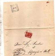 1906   LETTERA CON ANNULLO  OTTAGONALE Ca� De� MARI CREMONA