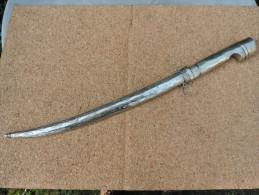 Couteau,ethnique ,foureau Metal à Identifier - Armes Blanches