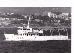 Batiment Militaire Marine Francaise A 743 Denti - Boats