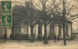 Eure  - Ref A760 - Montigny Sur Avre - L Ecole Et La Mairie - Ecoles - - France