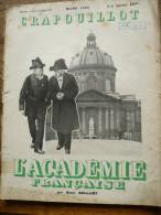 CRAPOUILLOT Mensuel Satirique, Mars 1939, L'ACADEMIE FRANCAISE, Par Henri BELLAMY - Journaux - Quotidiens