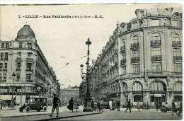 Lille   Rue Faldherbe - Lille
