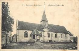 Eure  - Ref A746 -environs De Louviers - Eglise De Pinterville - -  Carte Bon Etat - - Pinterville