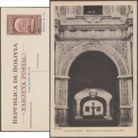 Bolivie 1945. Entier Postal Officiel.  Casa De La Moneda. Potosí, Hôtel De La Monnaie De Bolivie - Monnaies