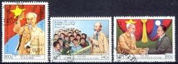 C067 POLITIC LEADERS ANNIVERSARY OF HO CHI MINH LAOS 1990 Gebr / Used - Laos